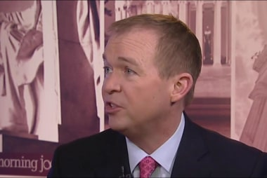 Mulvaney on CBO: I don't believe facts are...
