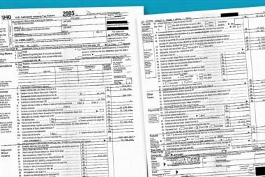 Exclusive Look at Trump's 2005 Tax Return
