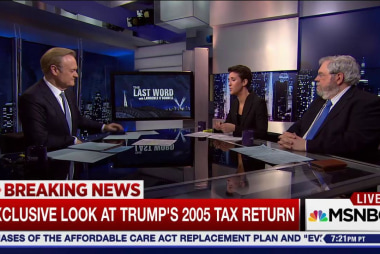 Donald Trump's 2005 tax return, why now?