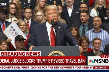 Hawaii governor: Trump travel ban violated...