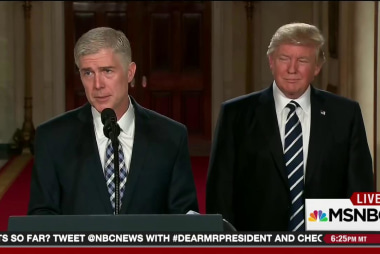 Durbin: Gorsuch nom is part of GOP strategy
