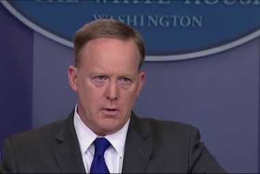 Spicer remarks fly 'into the face of facts'