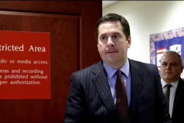 Nunes cancels meetings committee meetings...
