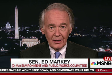 Sen. Ed Markey: Trump is attacking science