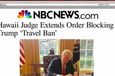 Judge puts Trump travel ban on indefinite...