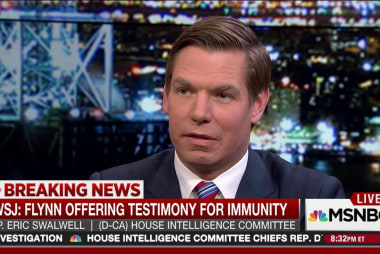 Swalwell: Innocent people don't ask for...