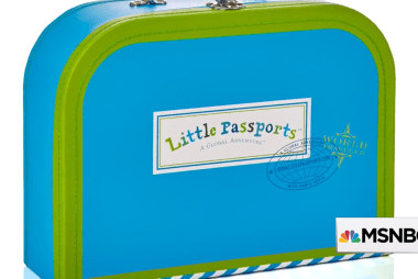 Launching the company Little Passports...