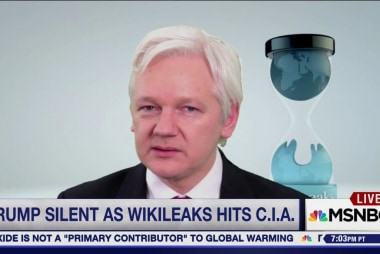 Trump silent as WikiLeaks hits CIA