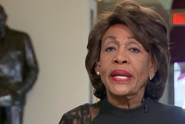 Waters claims sex allegations in Trump...