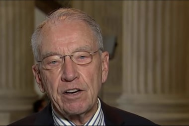 Grassley: Democrats 'Can't Lay a Glove' on...