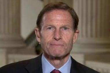 Democrat Sen. Richard Blumenthal on...