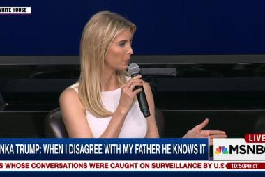 Ivanka Trump: When I disagree with my...