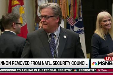 White House story on Bannon move perplexes