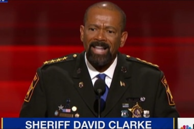 Sheriff Clarke called 'all hat, no cattle'...
