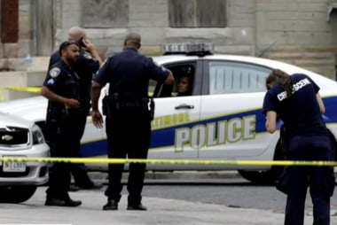 Baltimore police 'moving forward' with...