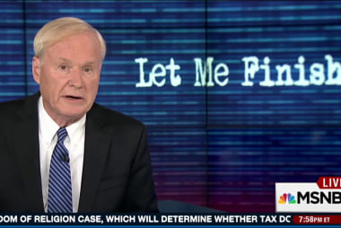 Chris Matthews applauds Peggy Noonan