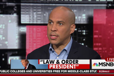 Booker: Trump 'playing footsie with Russia'