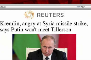 Syria set to dominate Tillerson's Moscow...