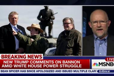 Trump turning on Steve Bannon?