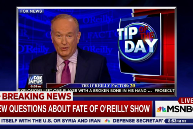 Did Bill O'Reilly just speak his last...