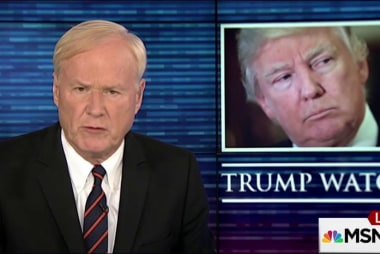 Matthews: Trump's troubling choice of words
