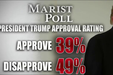 Trump approval rating rises in new poll