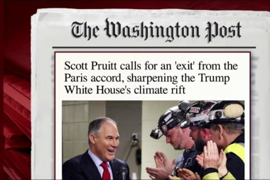 Joe: Why would we exit the Paris agreement?