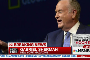 Fox News Is Ready to Drop Bill O'Reilly