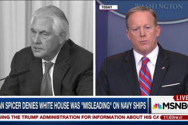 Then & Now: Trump Admin. remarks on USS...