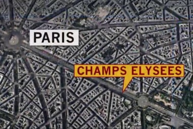 Paris Police Close Champs Elysees After...