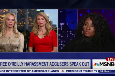 Three O'Reilly sexual harassment accusers...