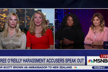 Three accusers on Trump's defense of O'Reilly