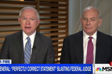 Sessions Insists He 'Wasn't Diminishing'...