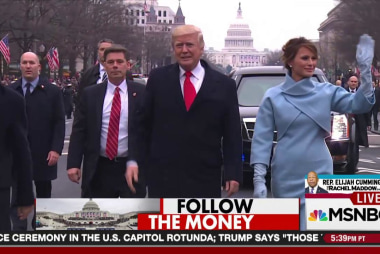 Inauguration donors: 'Phony #s & front...
