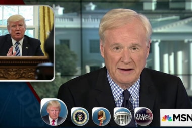 Matthews: Trump brags but he doesn't...