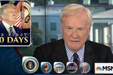 Matthews: We only have one President