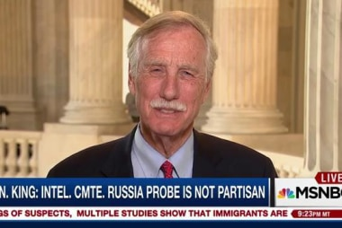 Sen. Angus King on Russia probe and North...