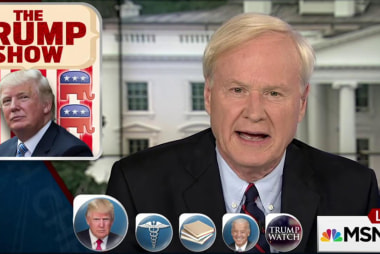 Matthews on Trump: I don't know where to...