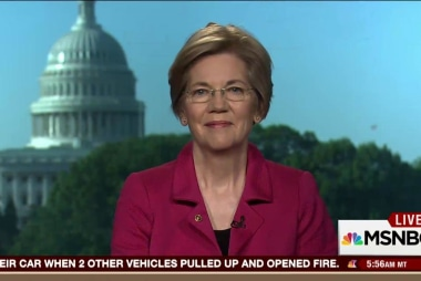 Senator Elizabeth Warren: money has...
