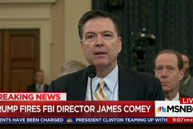 Trump fires Comey as investigations heat up