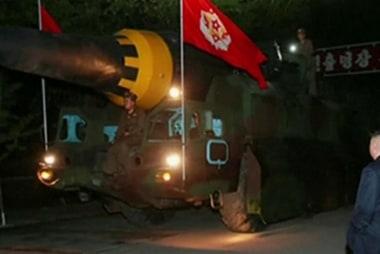 North Korea Test-Fires Another Ballistic...