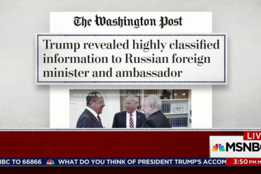 Wash. Post: Trump Revealed Classified Info...
