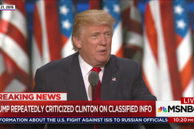 FLASHBACK: Candidate Trump blasted Clinton...
