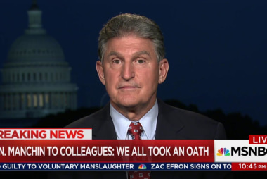 Sen. Manchin on Comey memo: Senators all...