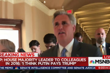 Top GOPer speculates about Putin paying Trump