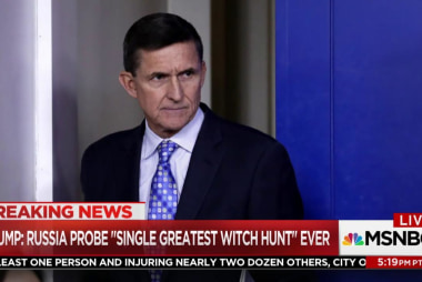 Why can't Trump quit Mike Flynn?