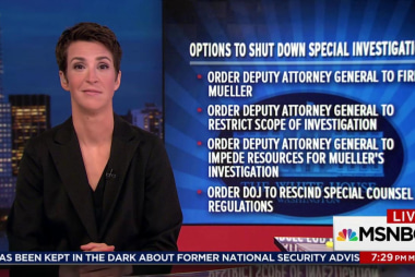 How might Trump try to end the investigation?