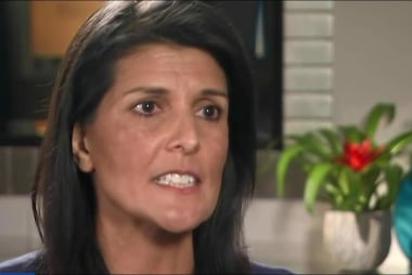 Amb. Haley: 'Absolutely Need the...