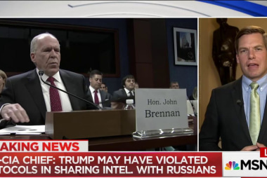 Rep. Swalwell: 'So chilling' that Brennan...