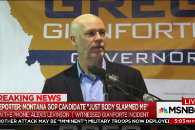 Reporter: Montana GOP candidate 'body...